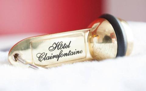 Bienvenue sur le nouveau site de L'Hôtel Clairefontaine