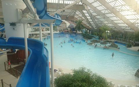 Le parc aquatique Aquaboulevard